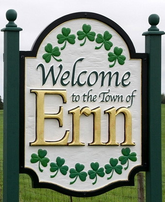 Town of Erin Sign