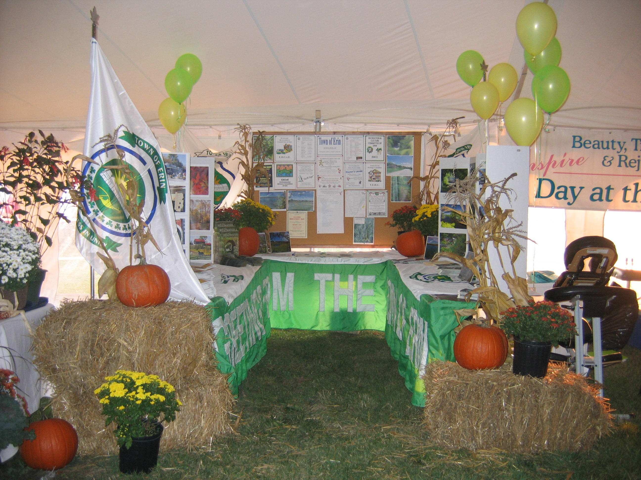 Town Displays at Erin Fall Fair